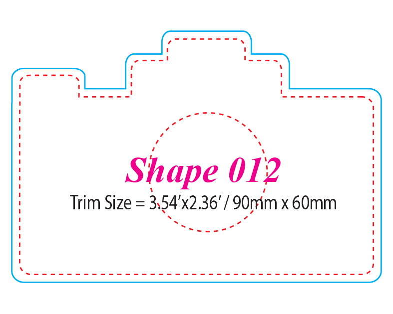 Die-cut Shape 12
