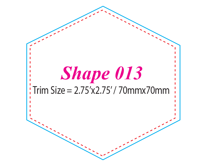 Die-cut Shape 13