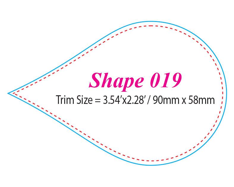 Die-cut Shape 19