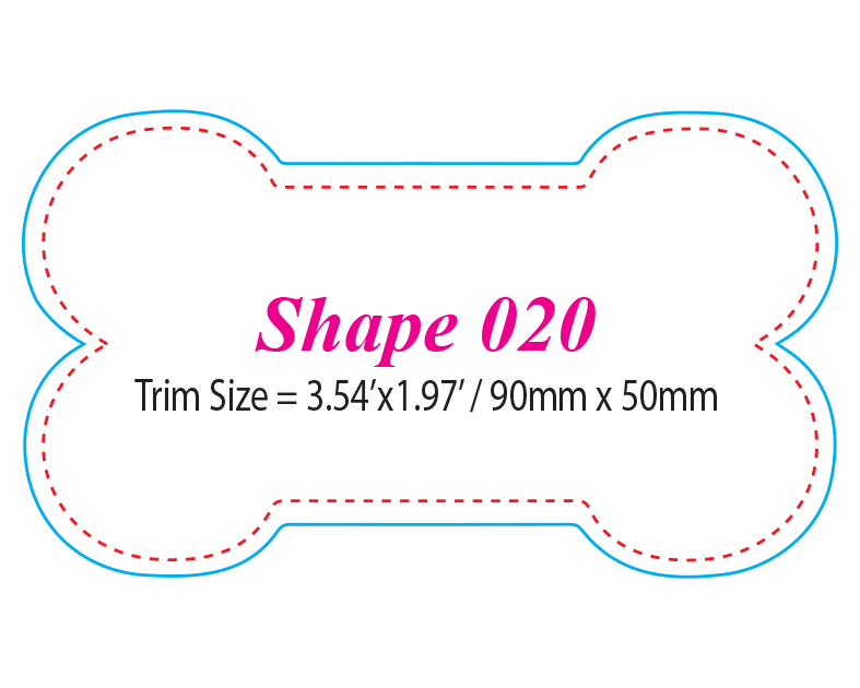 Die-cut Shape 20