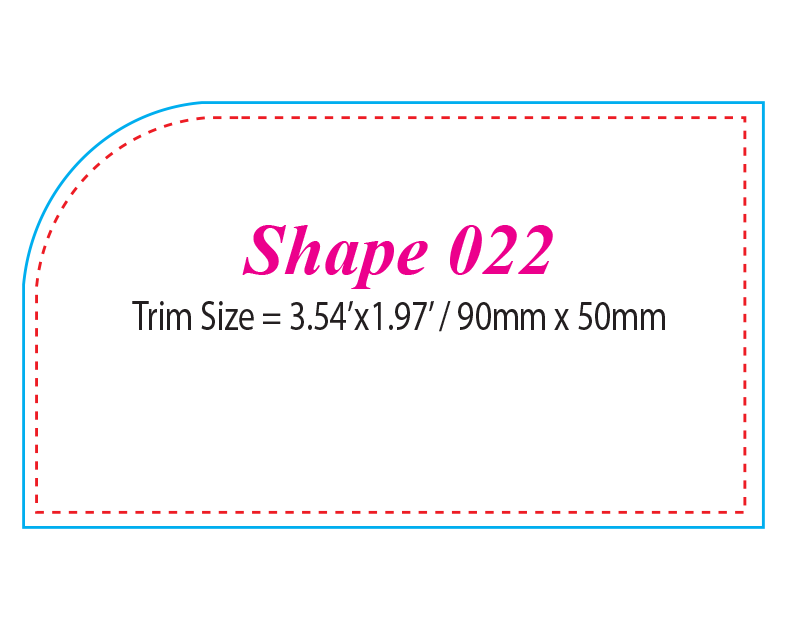 Die-cut Shape 22
