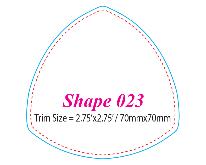 Die-cut Shape 23