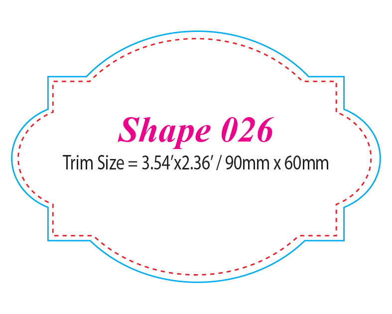 Die-cut Shape 26