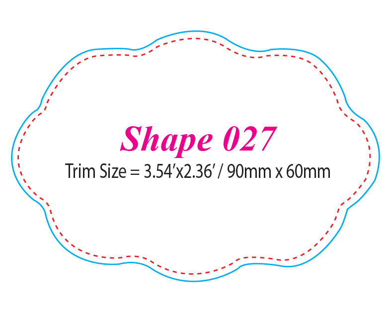 Die-cut Shape 27