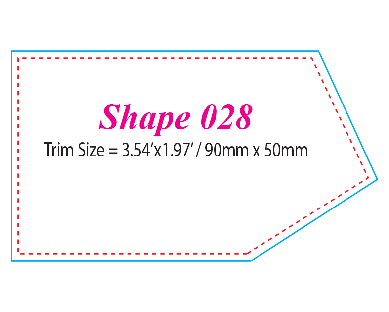 Die-cut Shape 28