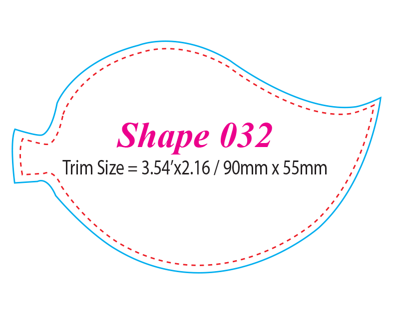 Die-cut Shape 32