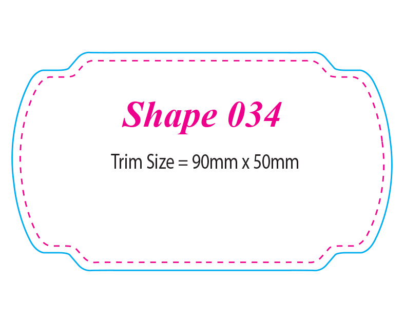 Die-cut Shape 34