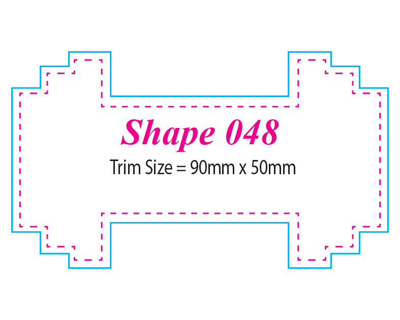 Die-cut Shape 48