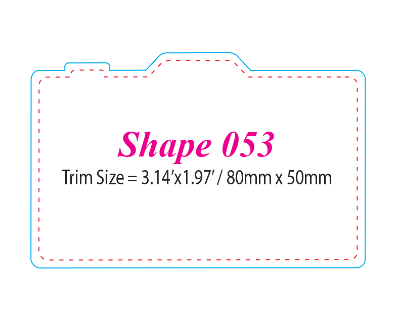Die-cut Shape 53