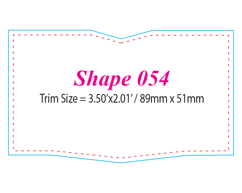 Die-cut Shape 54