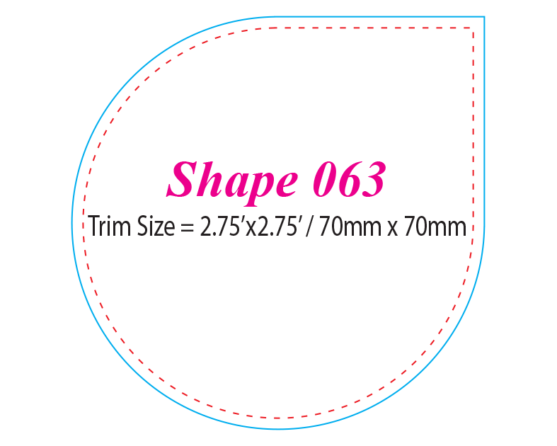 Die-cut Shape 63