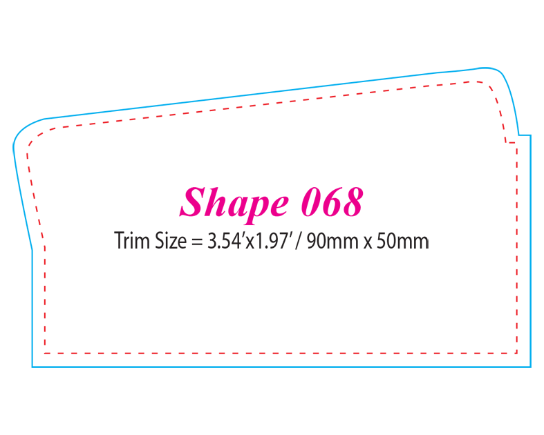 Die-cut Shape 68