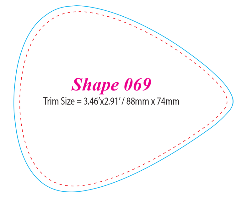 Die-cut Shape 69