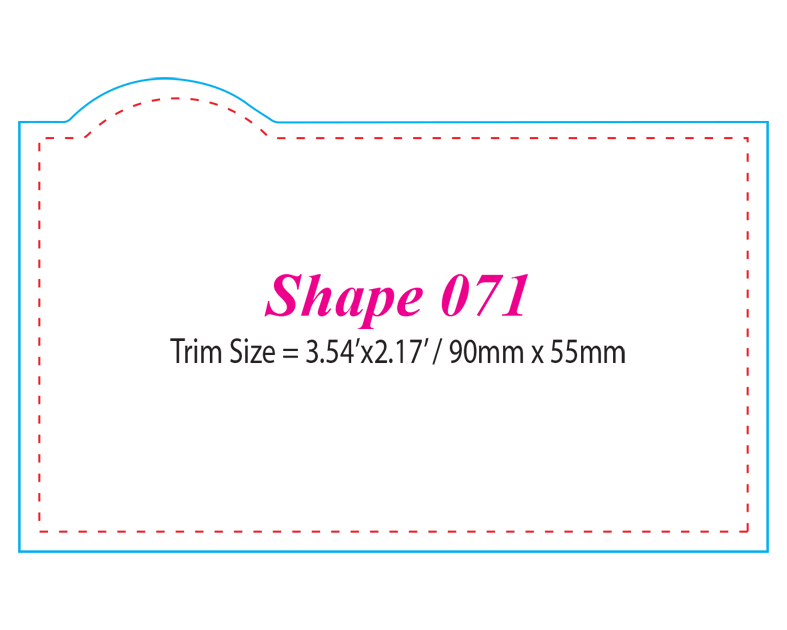 Die-cut Shape 71