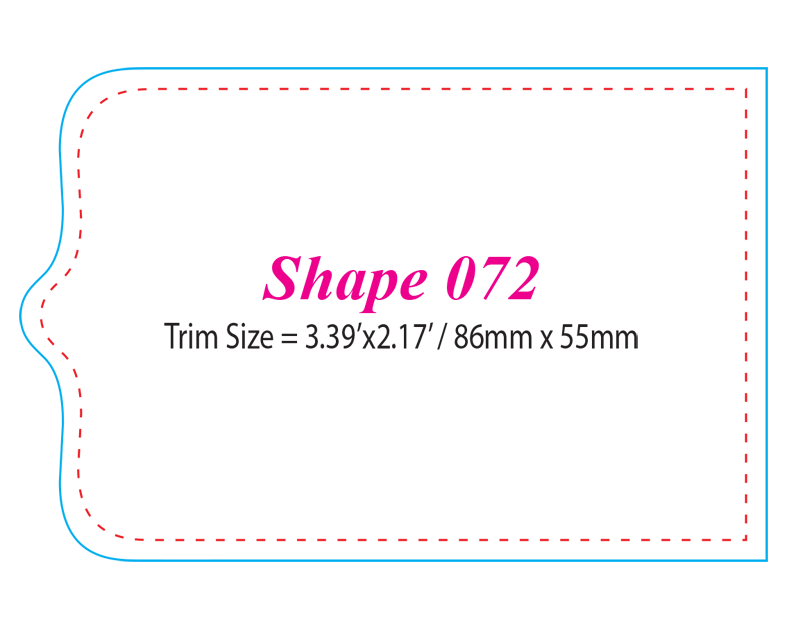 Die-cut Shape 72