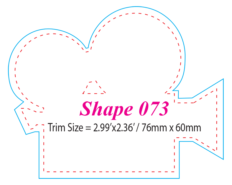 Die-cut Shape 73