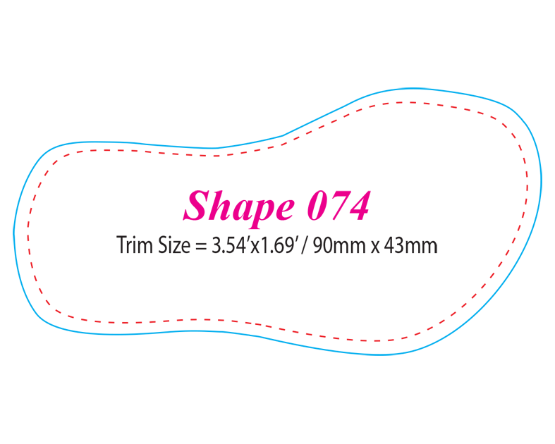 Die-cut Shape 74