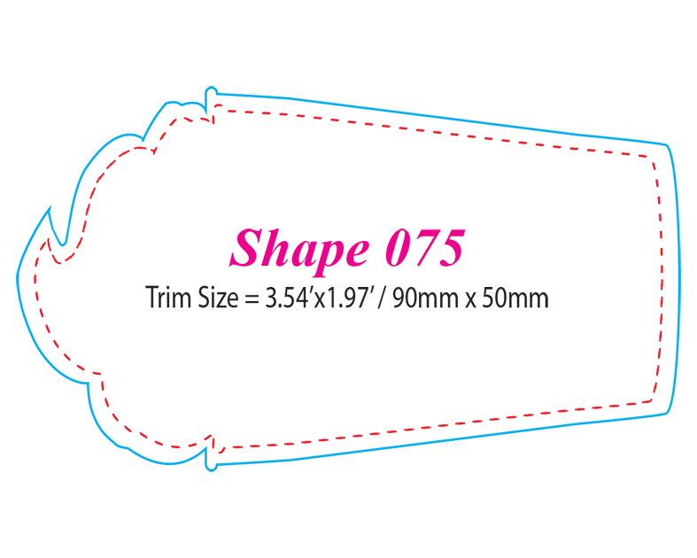 Die-cut Shape 75