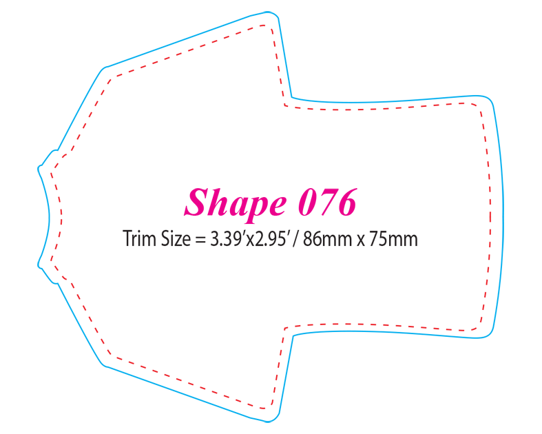 Die-cut Shape 76